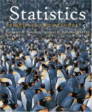Cover of: Statistics | Richard A. Johnson