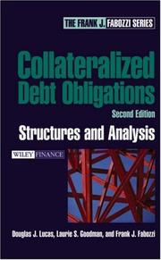 Cover of: Collateralized Debt Obligations | Frank J. Fabozzi