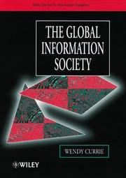 Cover of: The Global Information Society by Wendy Currie