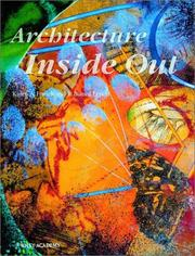 Cover of: Architecture inside out | Karen A. Franck