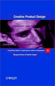 Cover of: Creative product design | Margaret Bruce