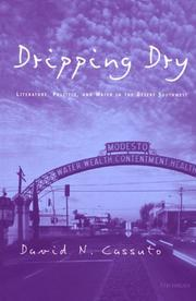 Cover of: Dripping dry | David N. Cassuto