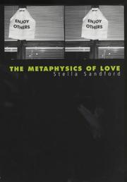 Cover of: The Metaphysics of Love by Stella Sandford