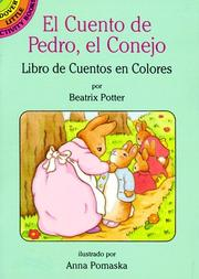 Cover of: El cuento de Pedro, el Conejo by Beatrix Potter