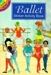 Cover of: Ballet Sticker Activity Book | Barbara Steadman