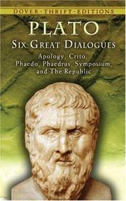 Cover of: Six Great Dialogues by Plato