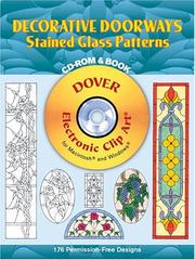 Cover of: Decorative Doorways Stained Glass Patterns CD-ROM and Book by Carolyn Relei