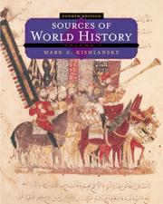 Cover of: Sources of World History, Volume I (Sources of World History Vol. 1) by Mark A. Kishlansky