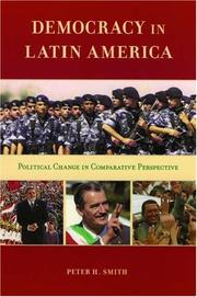 Cover of: Democracy in Latin America | Peter H. Smith