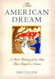 Cover of: The American dream | Jim Cullen