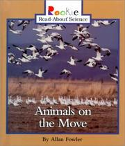 Cover of: Animals on the Move | Allan Fowler