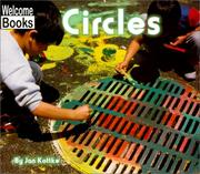Cover of: Circles (Welcome Books) | Jan Kottke