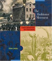 Cover of: The abolitionist movement | Elaine Landau