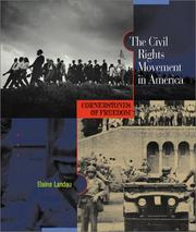 Cover of: The civil rights movement in America by Elaine Landau