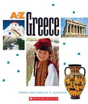 Cover of: Greece (A to Z) | Byron Augustin