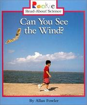 Cover of: Can You See the Wind? | Allan Fowler