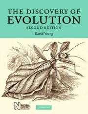 Cover of: The Discovery of Evolution by David Young