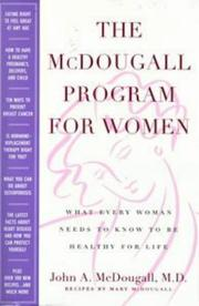 Cover of: The McDougall program for women by John A. McDougall