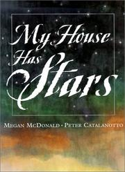 Cover of: My House Has Stars | Megan Mcdonald