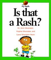 Cover of: Is That a Rash? (My Health) | Alvin Silverstein