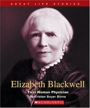 Cover of: Elizabeth Blackwell by Tristan Boyer Binns