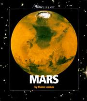 Cover of: Mars | Elaine Landau