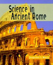 Cover of: Science in ancient Rome | Jacqueline L. Harris