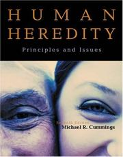 Cover of: Human heredity by Michael R. Cummings