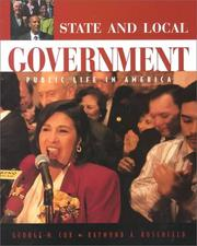 Cover of: State and local government | George H. Cox