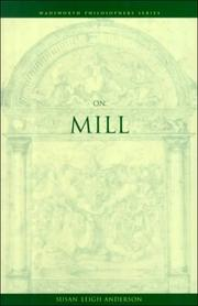 Cover of: On Mill | Susan Leigh Anderson
