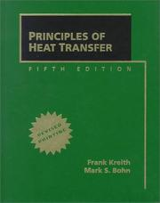 Cover of: Principles of Heat Transfer, Revised Printing by Frank Kreith