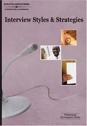 Cover of: Interview Styles And Strategies | Aggie White