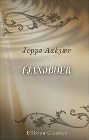 Cover of: Fjandboer by Jeppe Aakjær