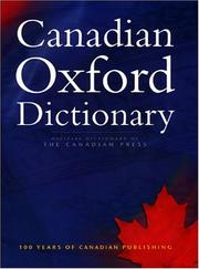Cover of: Canadian Oxford Dictionary | Katherine Barber