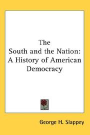 Cover of: The South and the Nation | George H. Slappey