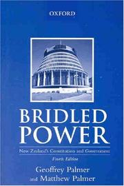 Cover of: Bridled power | G. W. R. Palmer