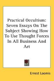 Cover of: Practical Occultism | Ernest Loomis