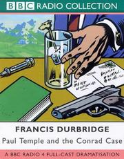 Cover of: Paul Temple and the Conrad Case | Francis Durbridge