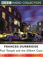 Cover of: Paul Temple and the Gilbert Case | Francis Durbridge