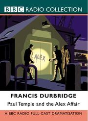 Cover of: Paul Temple and the Lawrence Affair | Francis Durbridge
