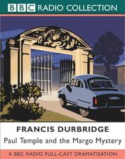 Cover of: Paul Temple and the Margo Mystery | Francis Durbridge