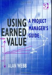 Cover of: Using Earned Value | Alan Webb