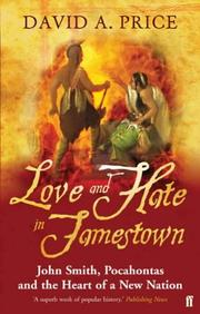 Cover of: Love & hate in Jamestown | David Price