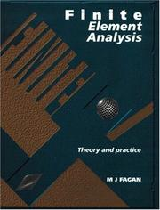 Cover of: Finite Element Analysis by Mike Fagan