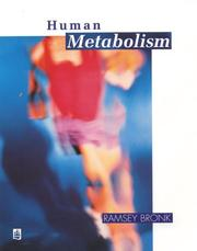 Cover of: Human Metabolism by R. Bronk