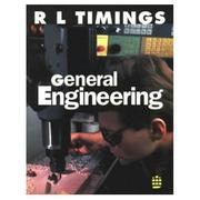 Cover of: General Engineering (Longman Engineering Competences) by R.L. Timings