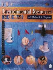 Cover of: Environmental resources | Alexander S. Mather