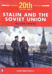 Cover of: STALIN AND THE SOVIET UNION | JOSH BROOMAN