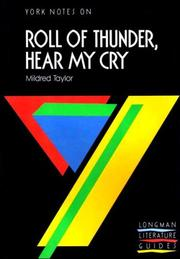 "Cover of: York Notes on Mildred Taylor's ""Roll of Thunder, Hear My Cry"" by Ashley Gaskin"