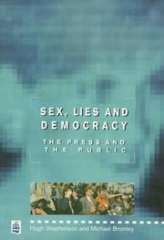 Cover of: Sex, Lies and Democracy by Michael Bromley